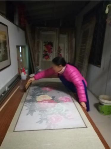 装裱工艺:绫、绢的染色